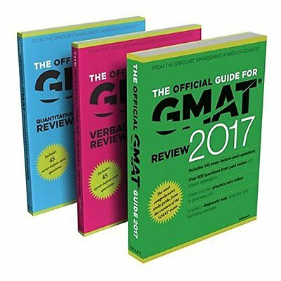 Official Guide to GMAT Review 2017 Bundle + Question Bank Video G. 9781119347637