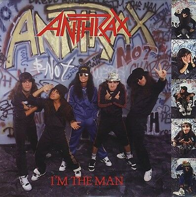 ANTHRAX I'm The Man Vinyl LP 2012 (6 Tracks) NEW & SEALED