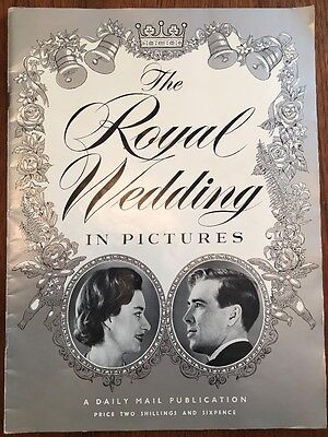 The Royal Wedding in Pictures - Daily Mail 1960 Publication Princess Margaret