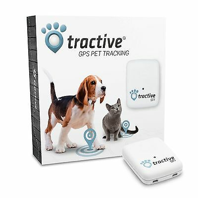 Tractive GPS Pet Tracker Cat Dog GPS Tracking Real Time RRP £79.99