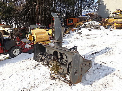 "New Holland 716C 72"" 3 Pt. Snowblower NICE!! 3 Point Hitch Ford Case Deere"