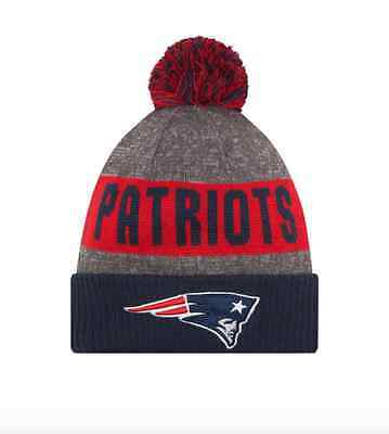 2016 NFL New England Patriots NEW ERA SIDELINE ON FIELD SPORT KNIT Cap Beanie