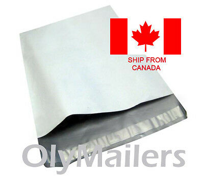 100 6x9 Poly Mailers Shipping Envelopes Bags 2.4 Mil Self Sealing