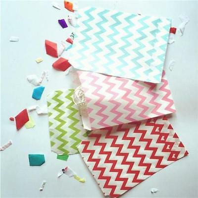 25 pcs  Wedding Birthday Party Paper Bags Popcorn Snack Treats Candy Buffet