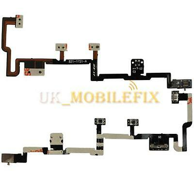 UK Power Volume Button Flex Cable Ribbon Replacement Repair Parts For iPad 2