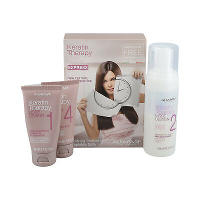 Alfaparf Lisse Design Keratin Therapy Intro Kit Lisciante