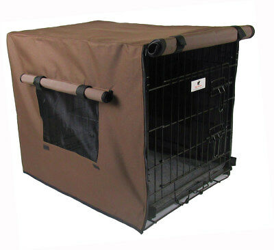 Settledown Chocolate Brown Waterproof Dog Crate Covers