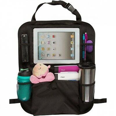 Back of Seat Car Organiser with Ipad Tablet Holder. Shipping is Free