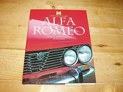 Sale Book - Alfa romeo-Always with Passion by David Owen. 2nd Edition.