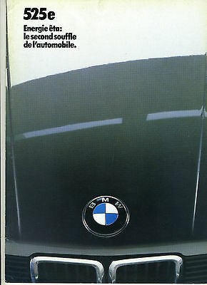 (86) CATALOGUE BMW 525e