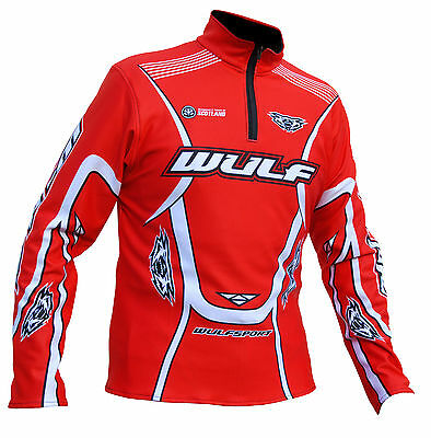 Wulfsport stratos red trials comp top size XXL motocross motorbike leisure