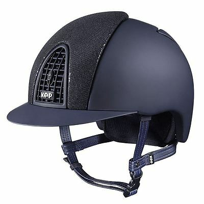 KEP CROMO T Double Glitter Inserts Crystals Helmet Customise Your Own Today Navy