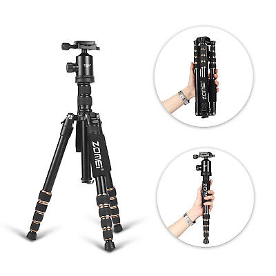 ZOMEIZ699 Pro Aluminium Travel Tripod Monopod&Ball Head Portable For DSLR Camera