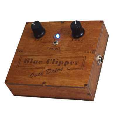 Wooden Box Distortion & Overdrive Pedal Cigar Box Guitar