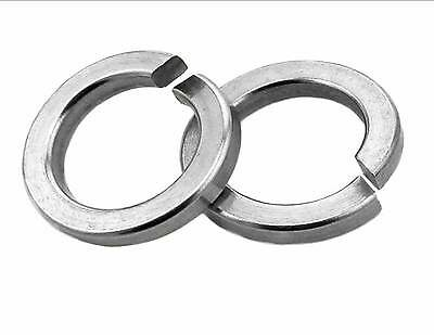 """Spring washers Rectangular section zinc plated from 3/16"""" - 3/4"""""""