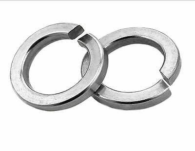 """Spring washers square section zinc plated from 3/16"""" - 3/4"""""""