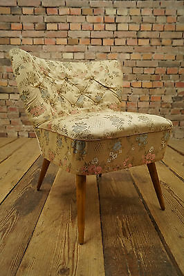 50s Retro COCKTAIL CHAIR ARMCHAIR DANISH FAUTEUIL Mid Century Vintage Stilnovo 7