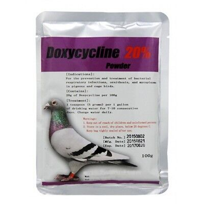 Doxycycline 20% Powder for Birds