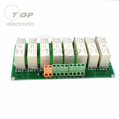 8 Channel SSR Solid State Relay low Trigger 5A 0-2V DC-DC Arduino Uno R3