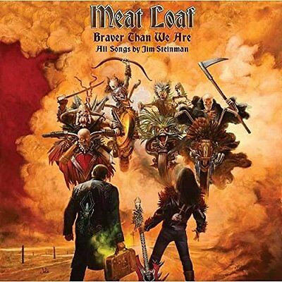MEAT LOAF BRAVER THAN WE ARE CD ALBUM (Released 9th September 2016)