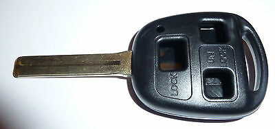 Lexus IS200 GS300 LS400 RX300 Replace 3 button long key case remote fob repair
