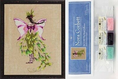 Mirabilia Cross Stitch Chart with Embellishment Pack ~ MOSS COLLECTOR #218. Ship