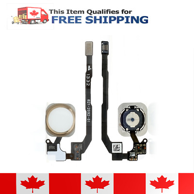 iPhone 5s Gold Home Button Flex Assembly