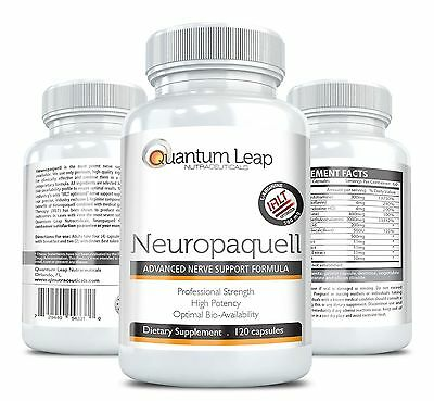 Neuropaquell. Clinical Strength Neuropathy Pain Relief. Advanced Nerve Suppor...