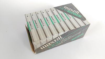 New Package 10 Maxell Ur90 Audio Blank Cassettes Type I