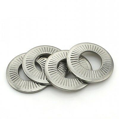 M6 / 6mm 304 Stainless Steel Butterfly Saddle Washers Anti-skid Washer QTY 20