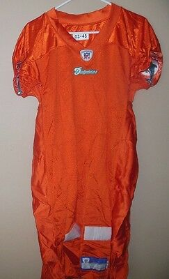 Miami Dolphins Blank Game Nfl Football Jersey