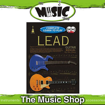 Progressive Complete Learn To Play Lead Guitar Manual - 216 Page Book & 2 CD's