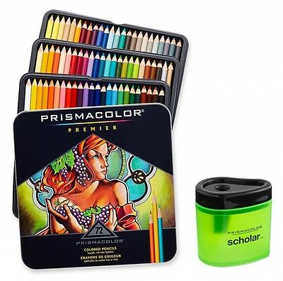 Prismacolor Premier Soft Core Coloured Pencil, Set of 72 Assorted Colours (3599T