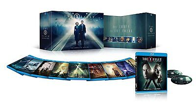 X-Files: The Complete Series Season 1-10 Collection (Blu-ray) Box Set- Brand New