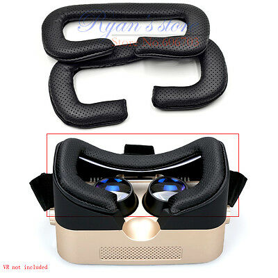 2 pcs perforated pads cushion for Virtual Reality VR Box Helmet 3D IMAX Mirror