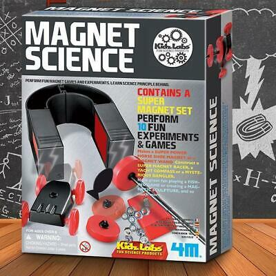 4M Kidz Magnet Science Kit | experiment kids magnetic educational scientific