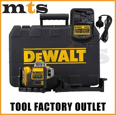 DEWALT 10.8V / 12V 3 x 360 DEGREE GREEN BEAM LASER LEVEL  - DW089LG / DCE089D1G