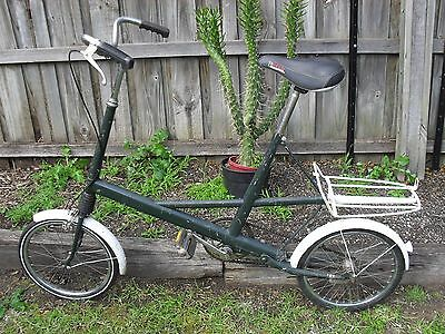 Rare Vintage Moulton Bicycle - With Velo Webspring Saddle Bike Seat
