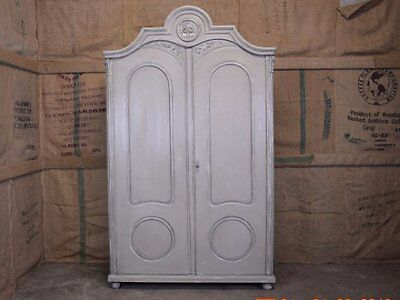AUSTRIAN PAINTED ARMOIRE - London & Home Counties Delivery Options