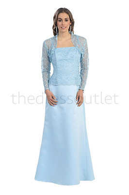 LONG MOTHER OF the Bride Dress Plus Size Formal Evening Gown ...