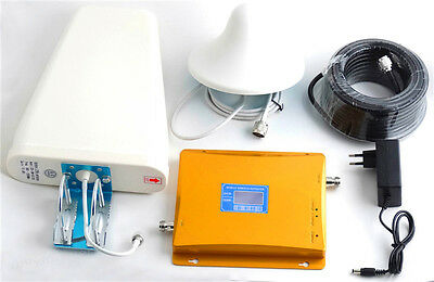 GSM+DCS 900MHz + 1800MHz Dual Band Repeater Phone Signal Booster Amplifier
