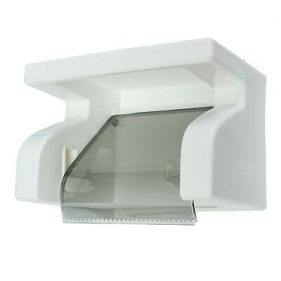 Waterproof Toilet Paper Holder Tissue Roll Stand Box with Shelf Rack Bathroom LW