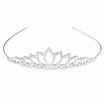 Wedding Women Girl Rhinestone Headband Head Crown Princess Jewelry LW