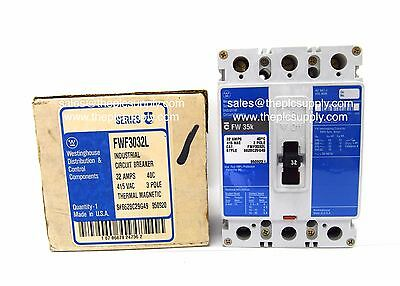Westinghouse FWF3032L 32Amp MCCB Siemens 3VF3 Crabtree Powerstar PW160 716/3P32