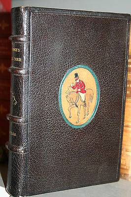 1852 Fine Binding Color Illustrated Mr. Sponges Sporting Tour Hounds Free Ship