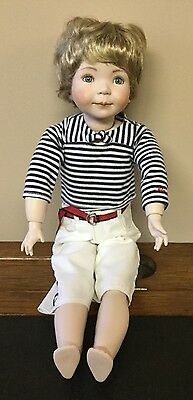 "Reproduction Dianna Effner Doll 19"" Bisque Head Composition Body JC 2012"