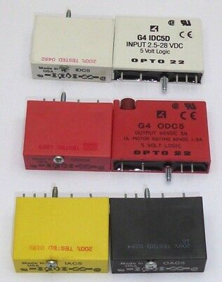 Opto22 OAC5 solid state relay use. Made in USA