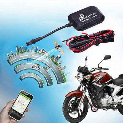 Vehicle Car Motorcycle GPRS GSM GPS Tracker 4 Bands Real Time Tracking