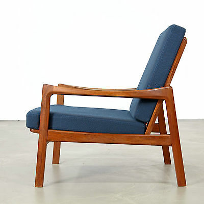 Tove and Edvard Kind-Larsen Easy Chair produced by Gustav Bahus | Norway 60s N2