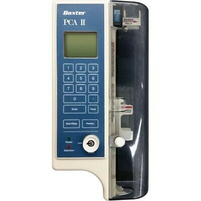 Baxter PCA II Syringe IV Infusion Pump Continuous Intermittent Patient Control
